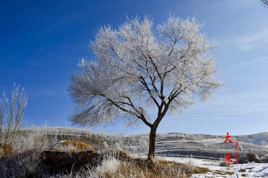大寒,一年中最寒冷的时期