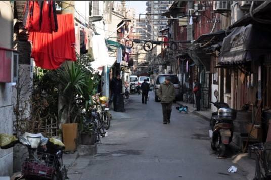 上海的里弄文化情节